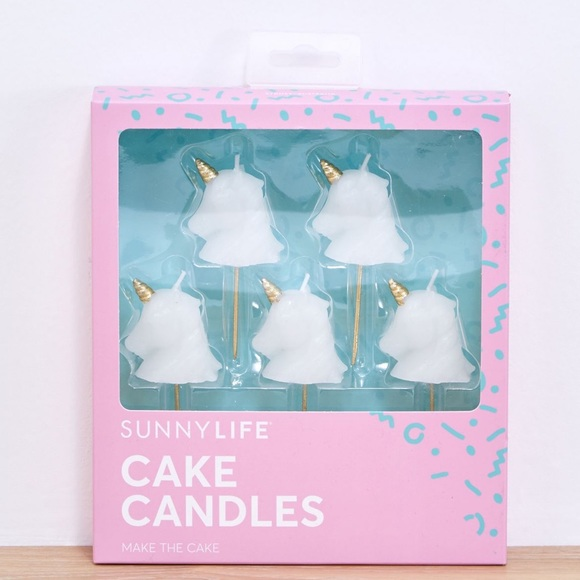 SunnyLIFE Other - SunnyLIFE Unicorn cake Candles